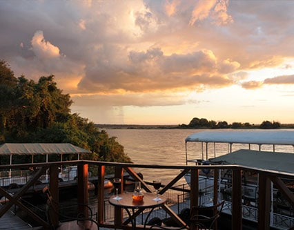 Chobe Marina Lodge View