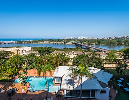 year-end riverside hotel views