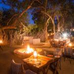 aha Thakadu River Camp - Boma Dinner