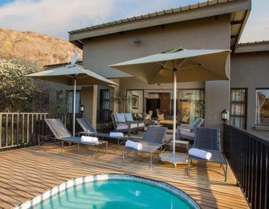 Shepherds Tree Game Lodge Villa Pool Deck