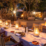 aha Makalali River Lodge Boma Dinner Camp 3
