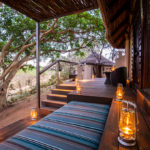 aha Makalali River Lodge Thatched Suite Exterior Deck