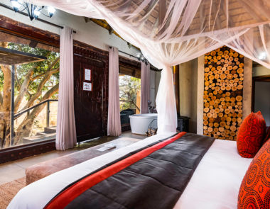 aha Makalali River Lodge Thatched Suite Interior