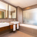 Luxury Room Bathroom- aha Harbour Bridge Hotel and Suites
